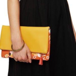 Bags - BRAND NEW RACHEL PALLY REVERSIBLE CLUTCH & dustbag